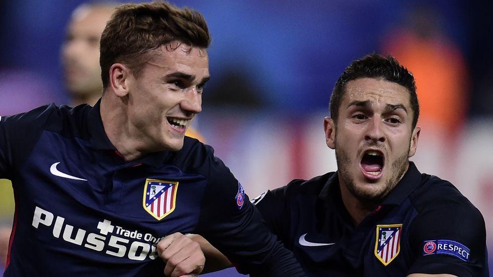 Las mejores imágenes del Atlético-Barça