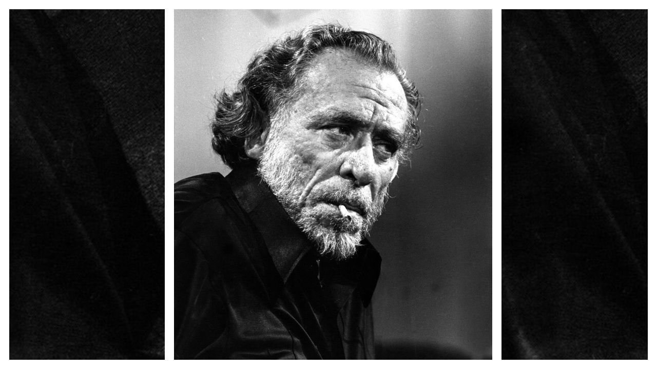 Charles Bukowski -fotografiado en 1978, de quien Abel Debritto publica una selección de cartas escritas entre 1945 y 1993 y que muestran sus reflexiones sobre la literatura y los aledaños