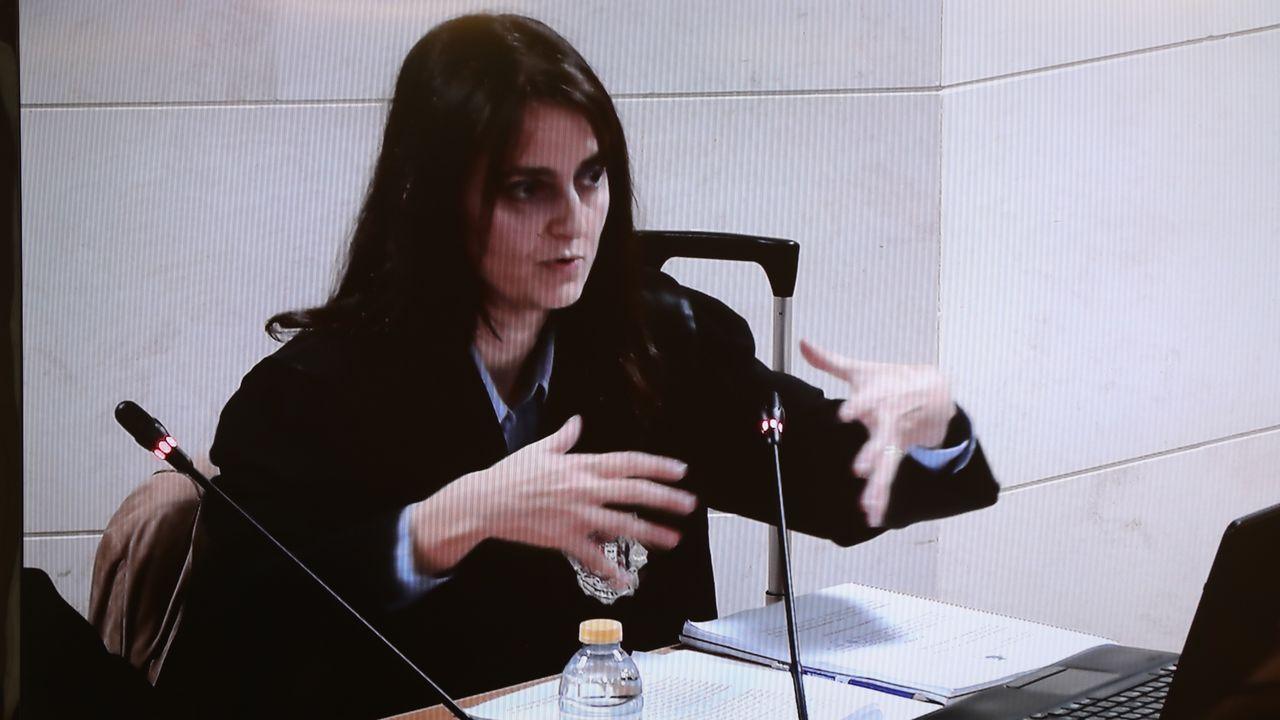 La fiscal, Cristina Margalet, expone sus conclusiones finales en la decima jornada del juicio