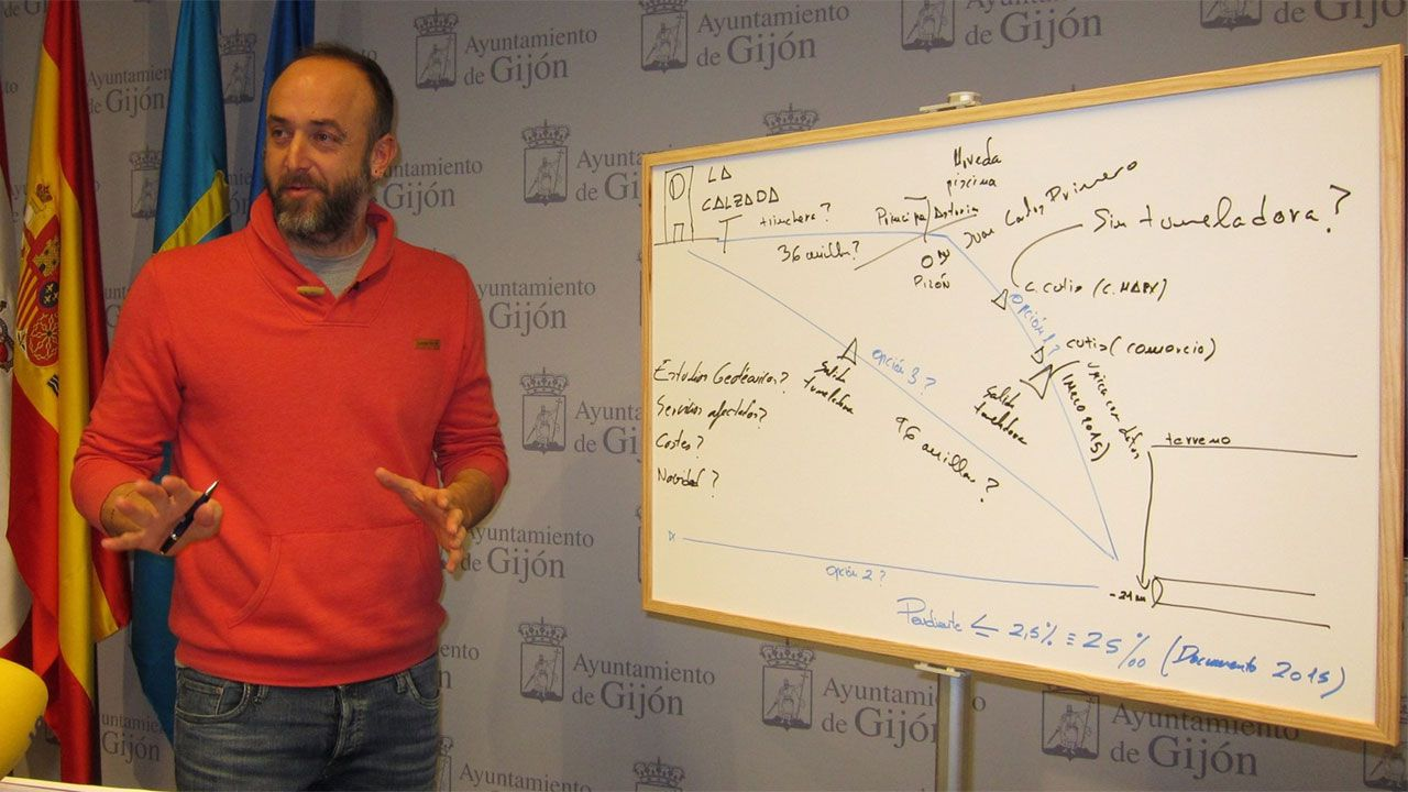 David Alonso explica las alternativas de XsP al Plan de Vías