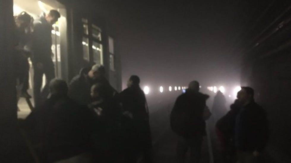 Explosión en el metro