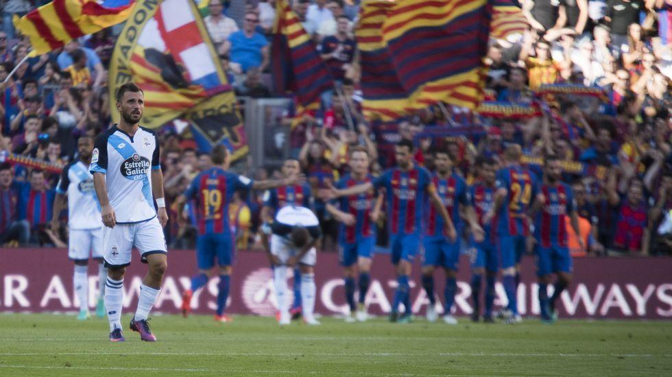 El Barcelona-Deportivo, en fotos