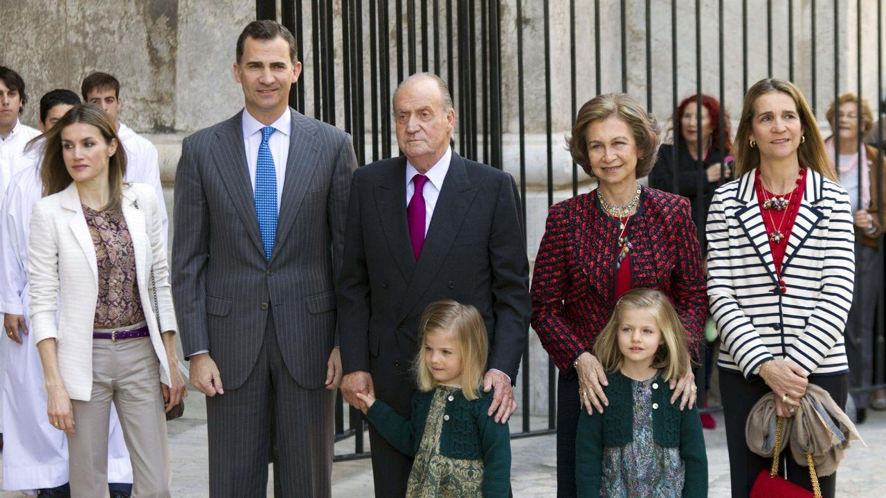 Año 2012, la infanta Cristina, la gran ausente