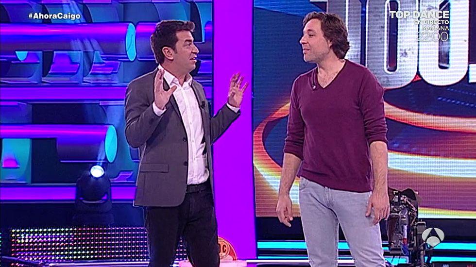 Así consiguió Fernando Sánchez el premio gordo de «¡Ahora Caigo!»