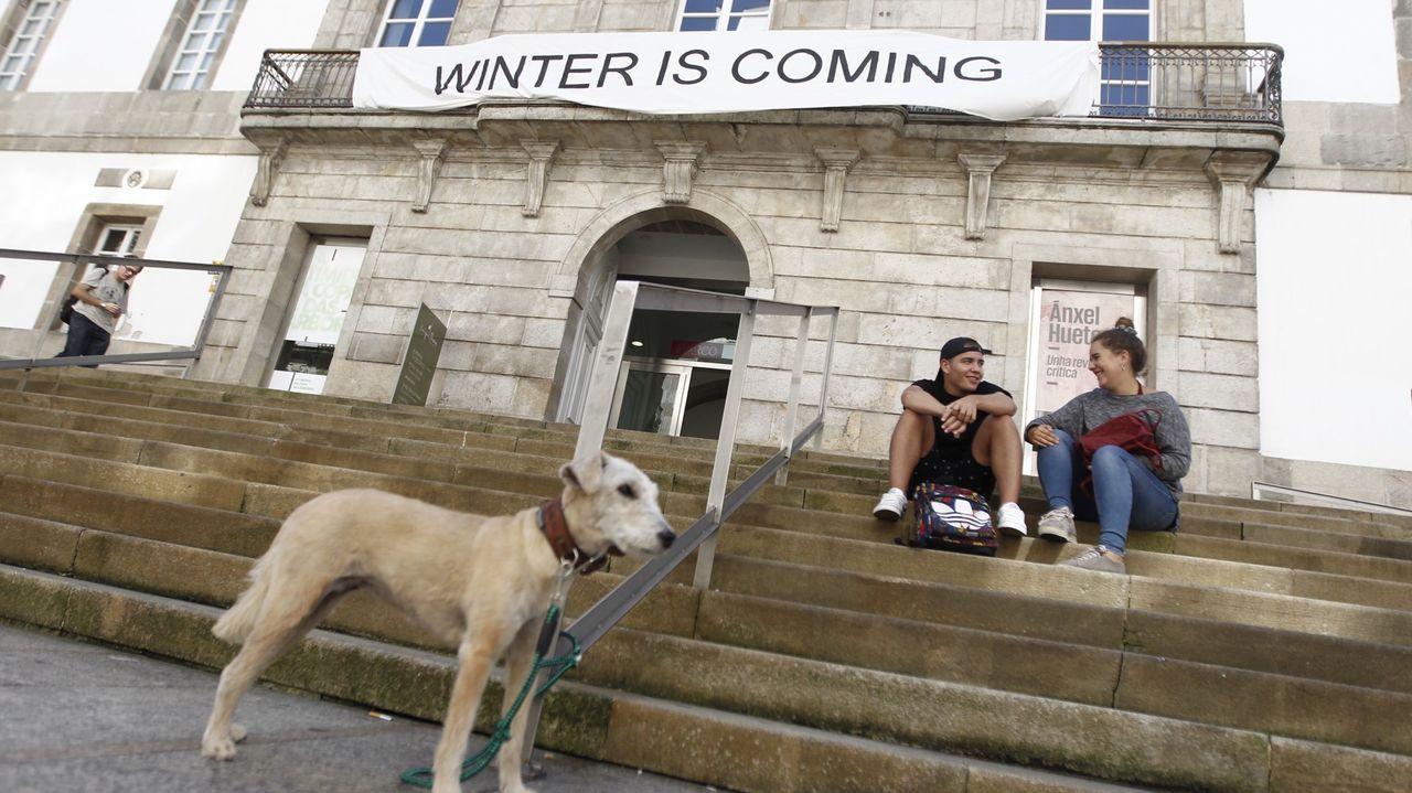 Las protestas contra la política del Concello de Vigo con el Marco se suceden desde hace tres años
