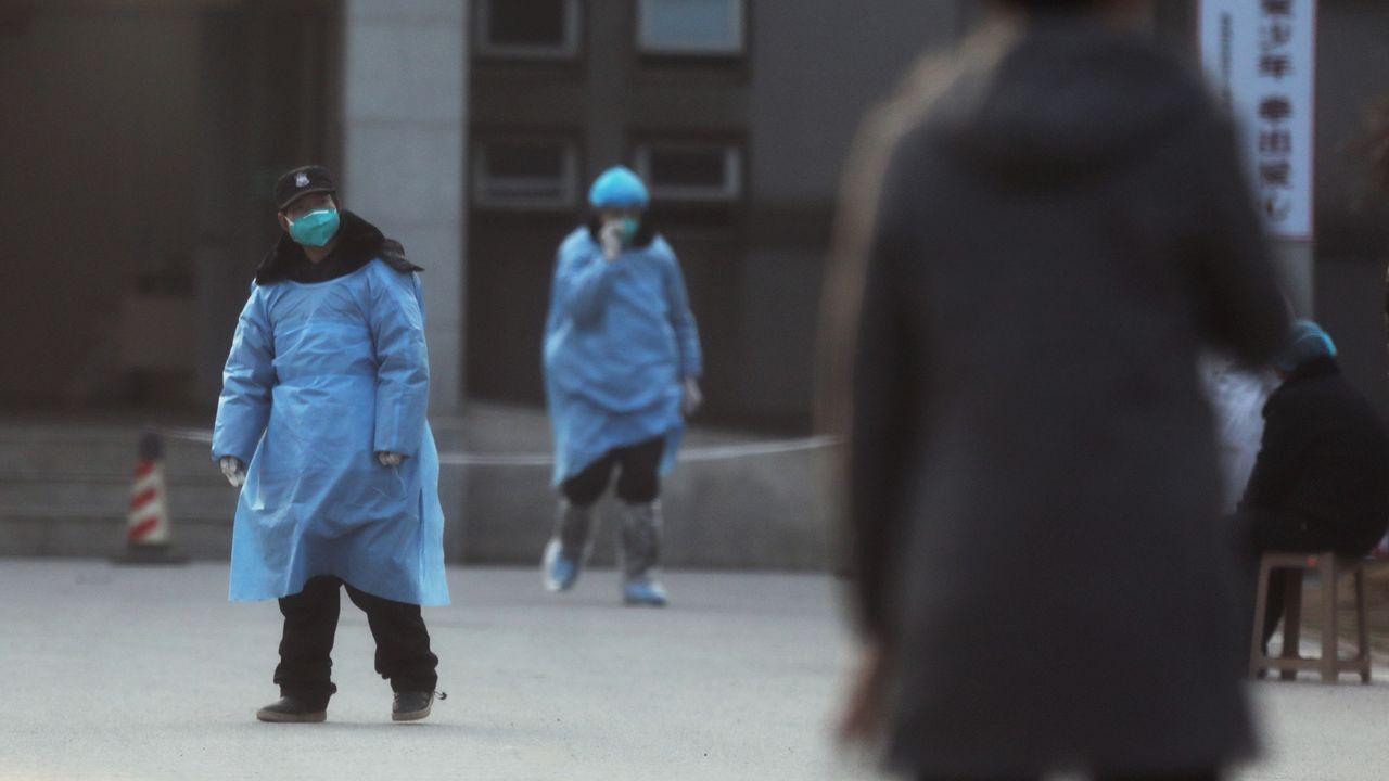 Un nuevo virus se extiende en China.Controles por la enfermedad en aeropuerto de Indonesia