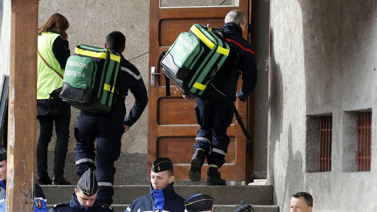 Bomberos franceses, en una imagen de archivo