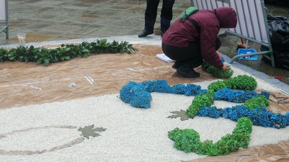 Otoño del 2020: la segunda ola en Pontevedra.El Manuel de Falla, próximo a la isla Beauchene al sur del archipiélago de las Malvinas