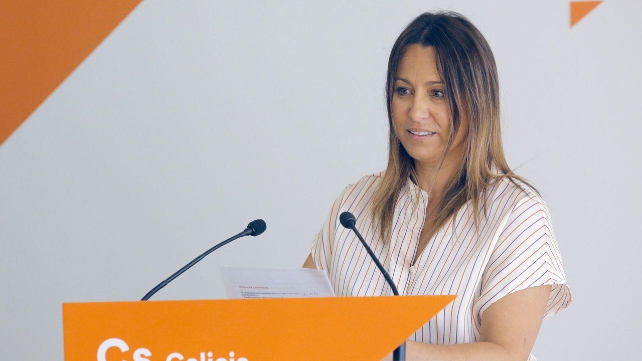 La periodista viguesa Beatriz Pino