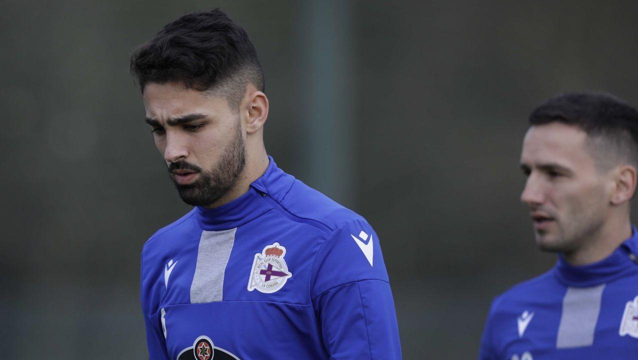 Aketxe, ya recuperado, entró en la lista para Oviedo