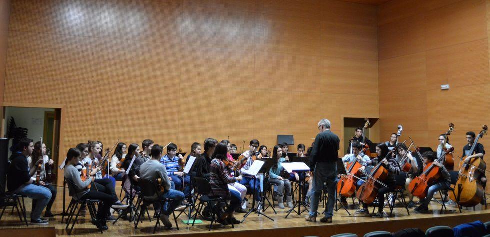 Solo 46 horas de felicidad.La actividad musical en el Conservatorio Profesional de Música es enorme a lo largo de la presente semana.
