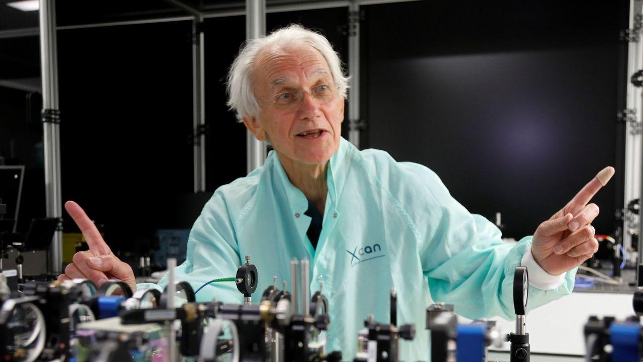 «Haber ganado el Nobel de Física es algo muy impresionante. Es una gran ilusión compartida»: Gérard Mourou