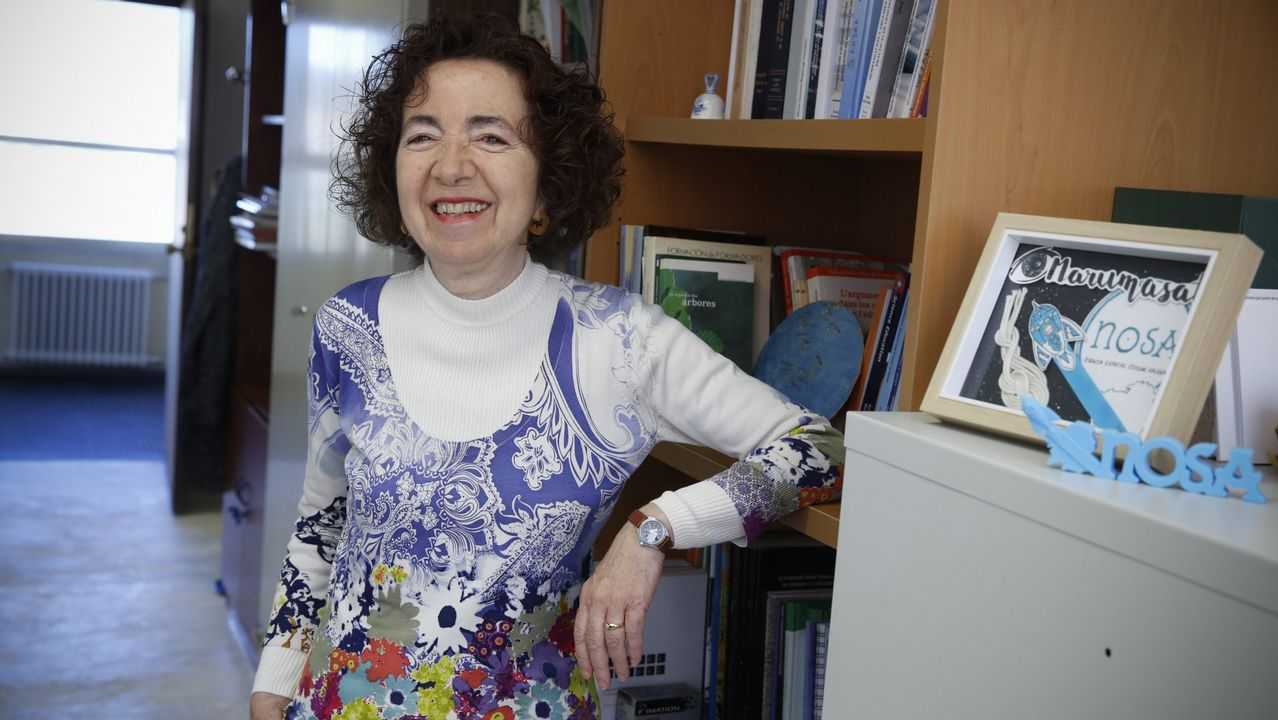 El plan definitivo para conocer el tesoro de Aldán.Ethel Vázquez durante su comparecencia en la cámara gallega