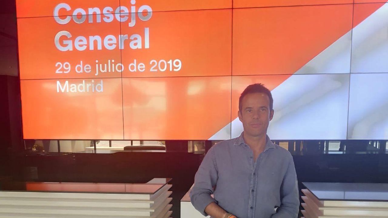Ignacio Cuesta, teniente de alcalde de Oviedo y portavoz municipal de Ciudadanos en la capital del Principado, se incorpora al Comité Ejecutivo Nacional de la formación naranja