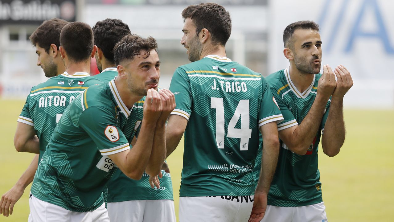Jorge Mier, durante el Vetusta-Salamanca CF