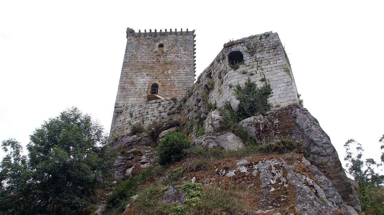 El castilo de Andrade, en la comarca eumesa de Nogueirosa, recuperará las visitas el próximo lunes