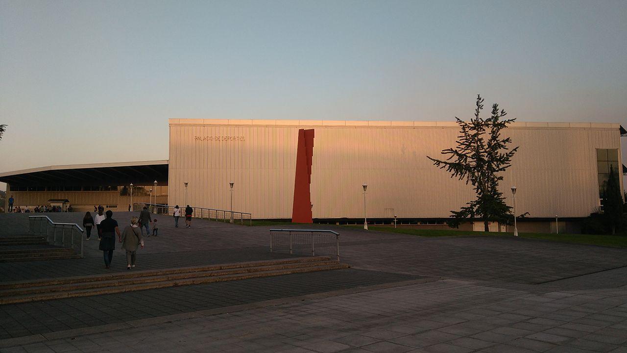 La desescalada en el Multiusos de Sar.Palacio de los Deportes, Gijón