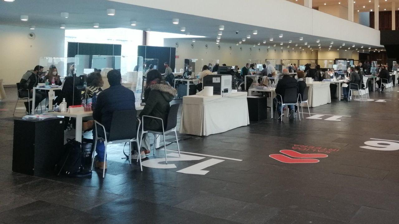 Primera reunión de la mesa de trabajo sobre el futuro de Ence, celebrada en Madrid