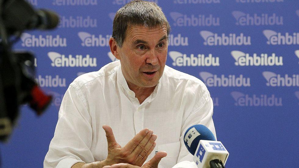 La Junta Electoral decide que Otegi no puede ser candidato.Arnaldo Otegi