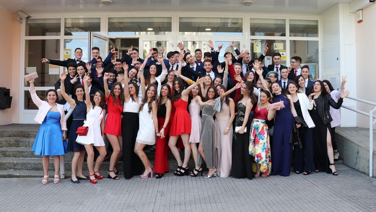 Graduación de los alumnos del instituto Puga Ramón