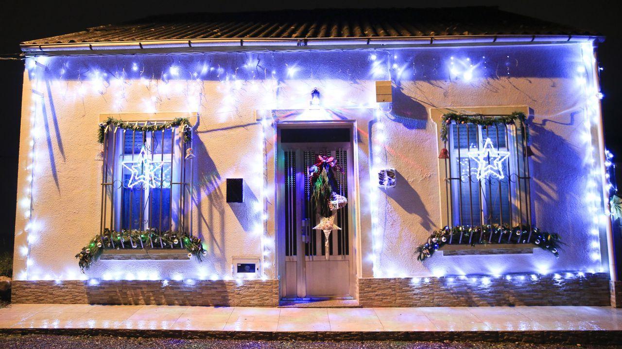 Así es la casa más instagrameable de Lugo, con un alumbrado navideño espectacular.Foto histórica de Becerreá dos anos 50, no tempo en que se celebrara a feira do 12