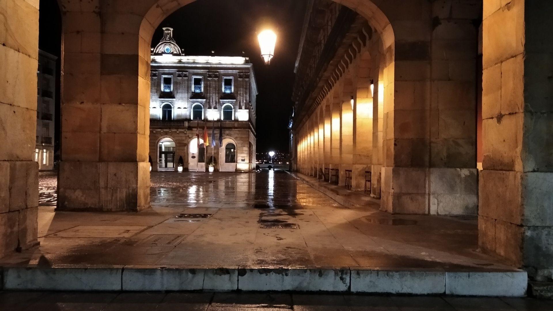 Plaza del Ayuntamiento de Gijón