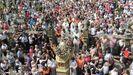 Las manifestaciones religiosas masivas este año están suspendidas