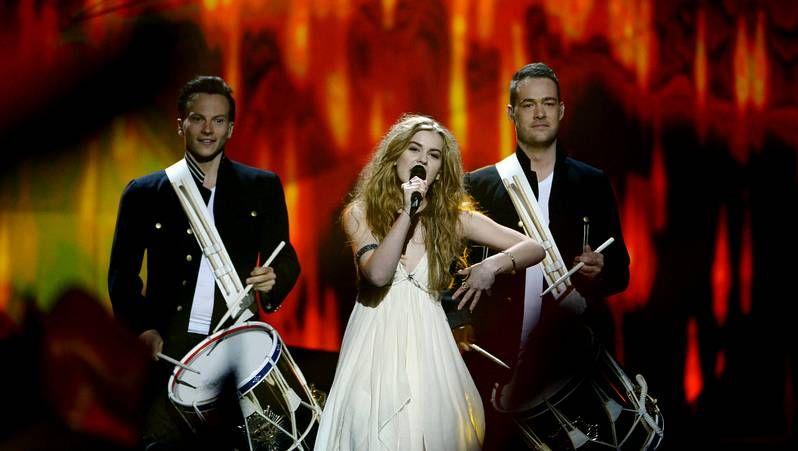 Eurovisión 2013: Primera semifinal.De Forest celebró ayer en Copenhague su victoria.