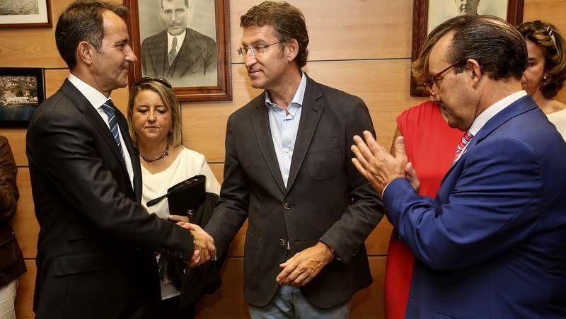 Modesto García, José Franco y Marcial Martínez.