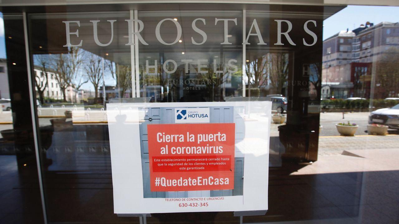 Hoteles de Lugo que servirán de alojamiento para transportistas, sanitarios y militares