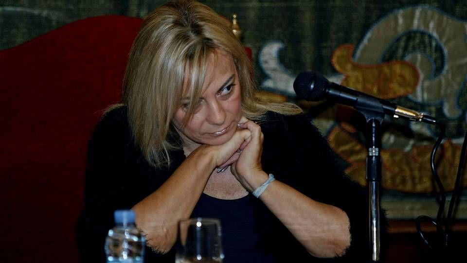 Sonia Castedo durante un pleno extraordinario en el Ayuntamiento de Alicante