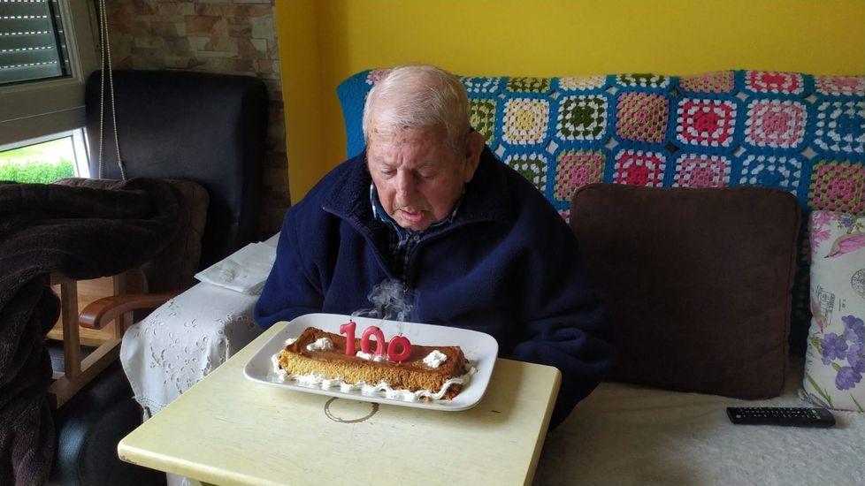 Eulogio Pereira cumplió los 100 años el pasado abril