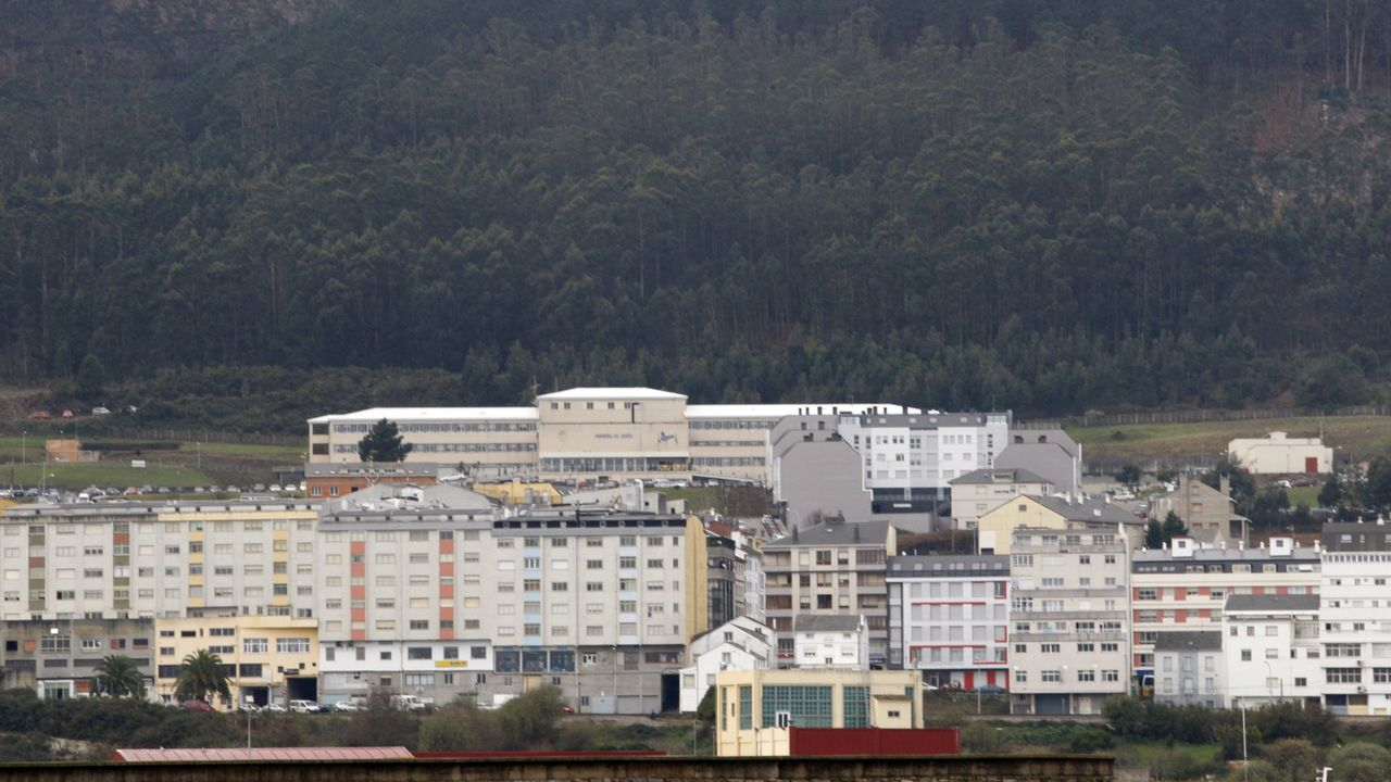 Avenida de Alfonso Molina, a la altura del hipermercado Alcampo, donde esta prevista la pasarela de Pedralonga