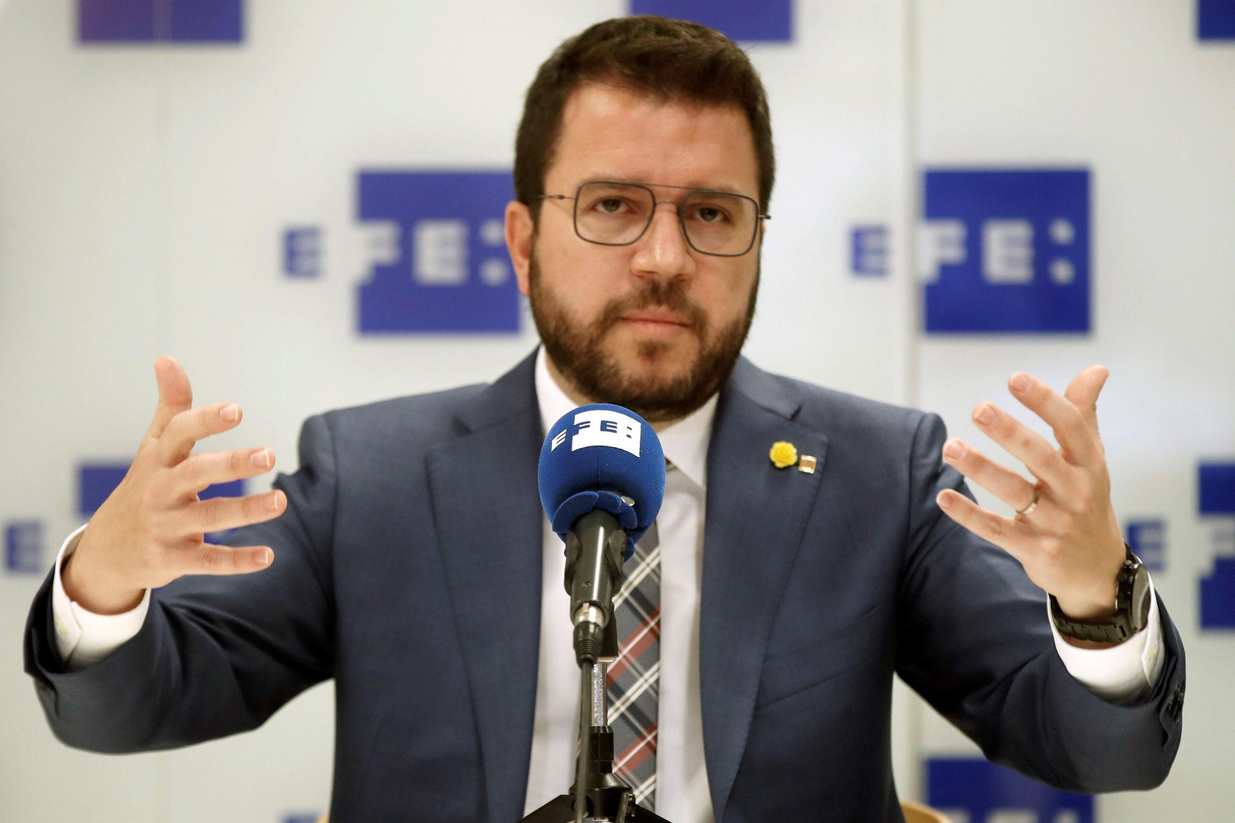 Pere Aragonès, candidato de ERC a la Generalitat