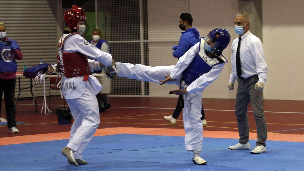 Naira y David, de Judo Bergantiños