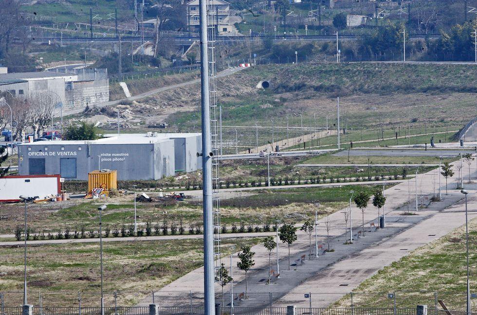 La urbanización de Tafisa incluye una parcela para un hotel, que es la primera por la izquierda.