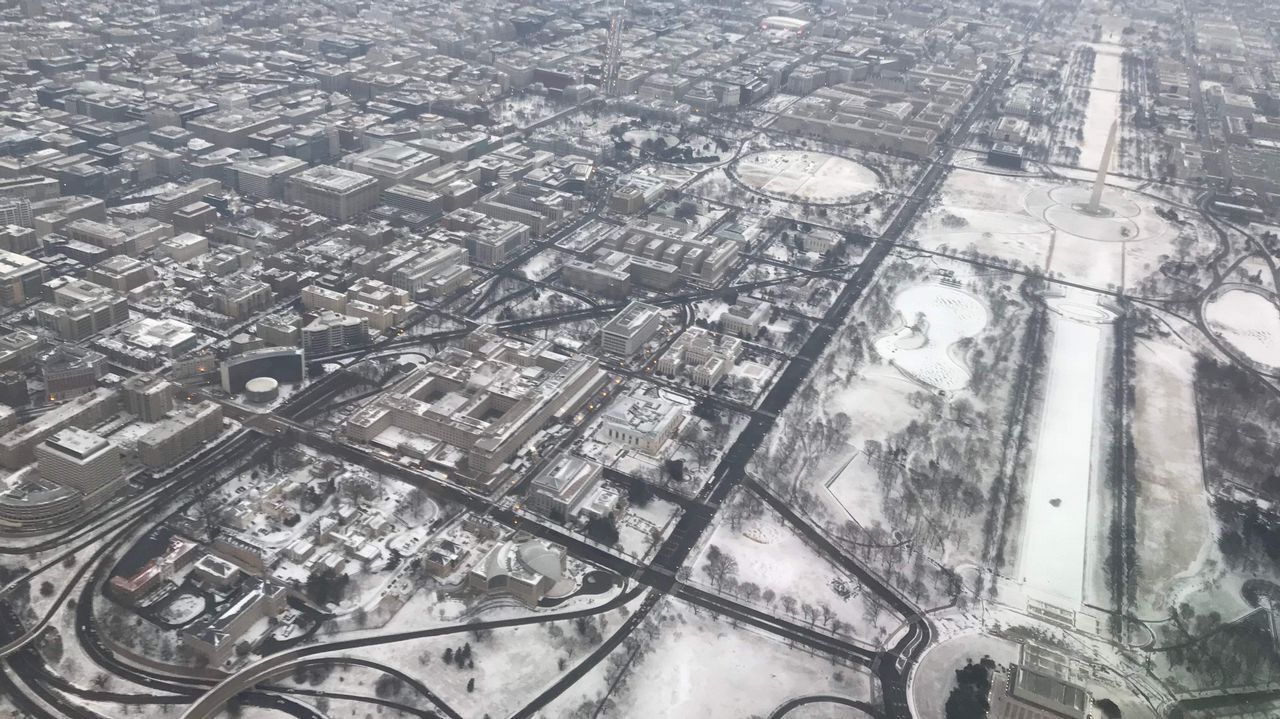 Vista aérea de Washington DC