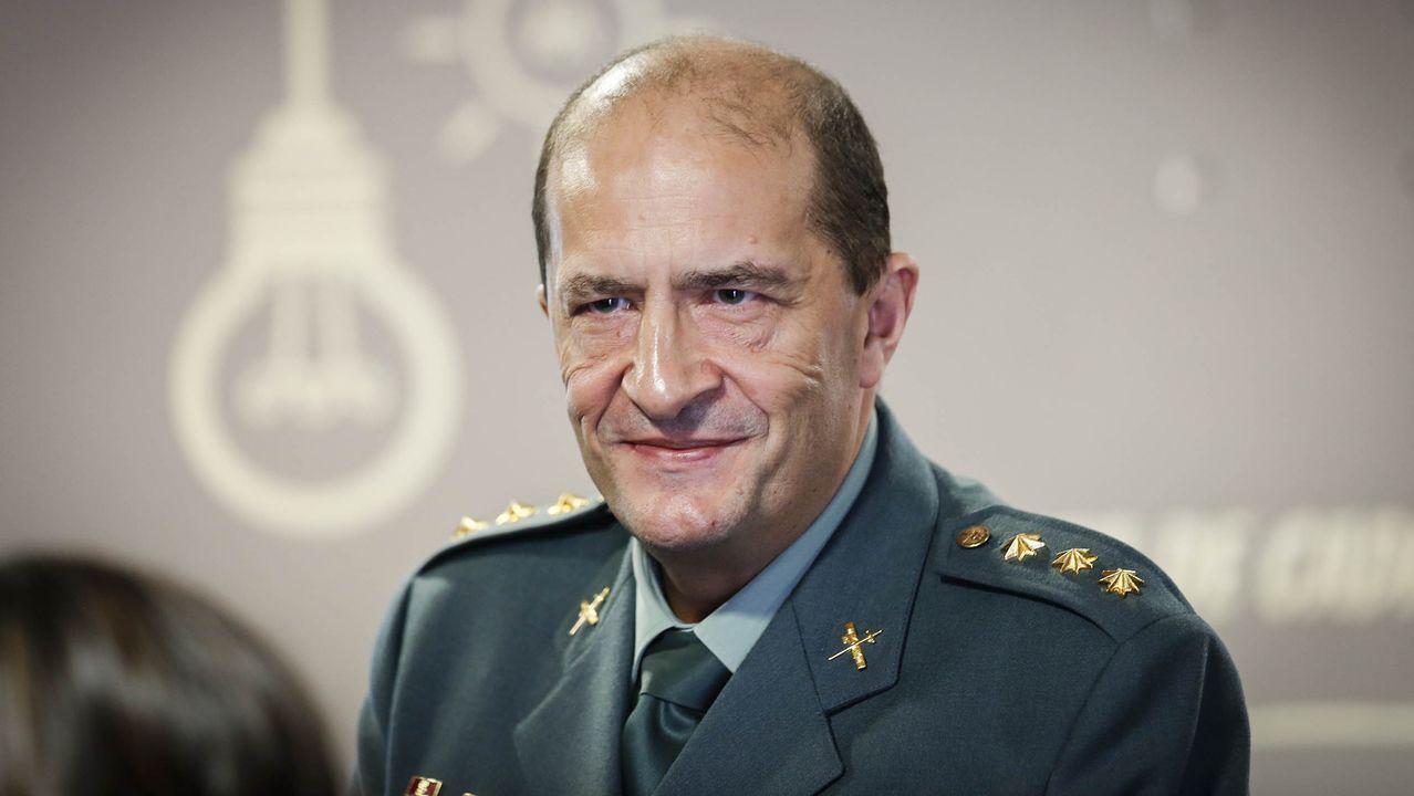 Novo Colldefors repasa los momentos más duros como jefe de la Comandancia de la Guardia Civil de Ourense