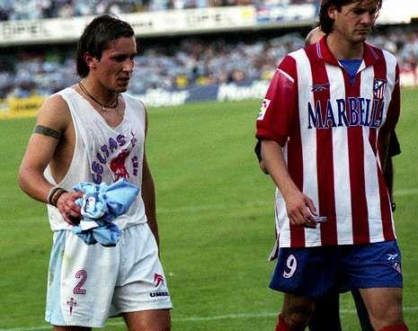 Salgado vistió la camiseta celeste por última vez el 20 de junio de 1999.