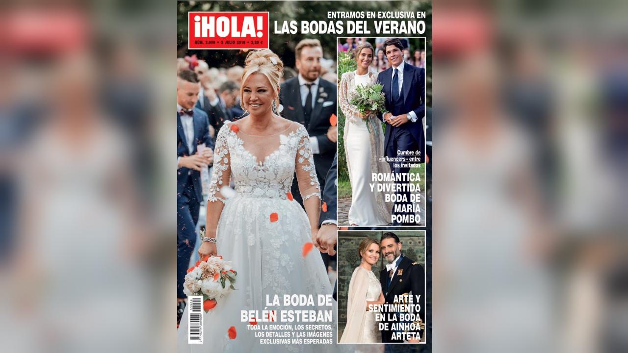 Portada de la revista «¡Hola!» con Belén Esteban