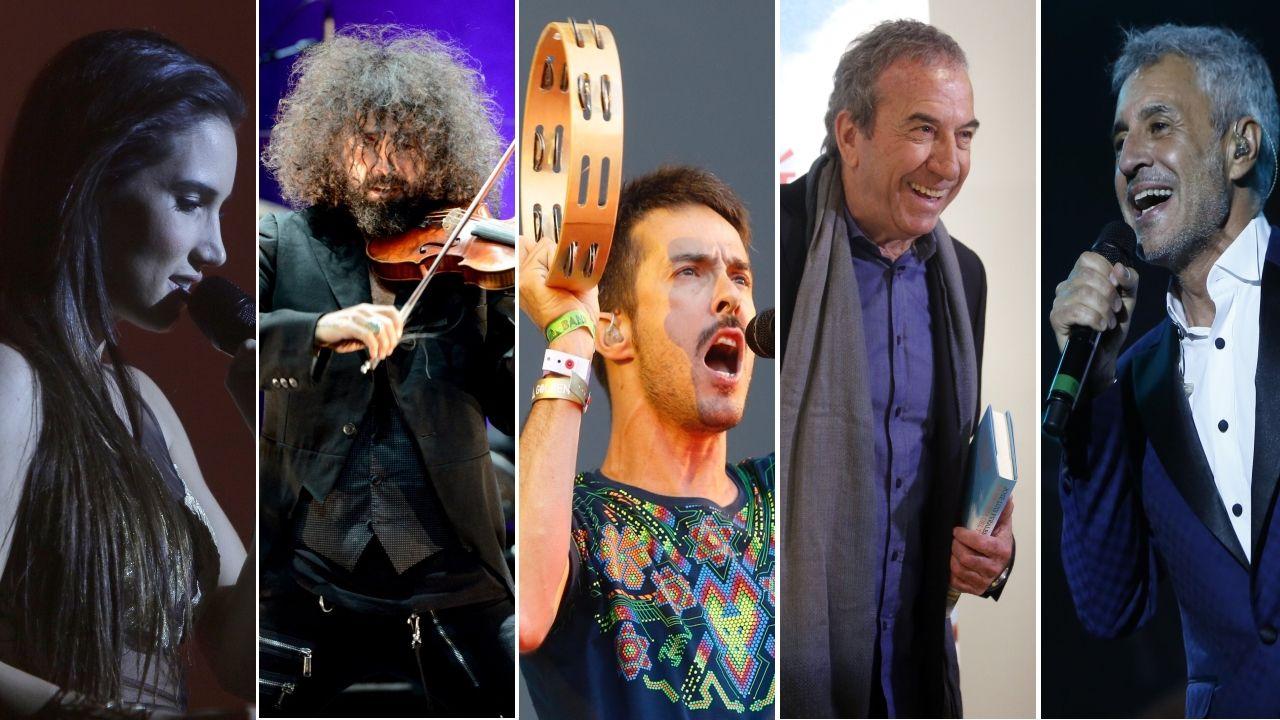La versión con la que la viguesa Aroa Ferreiro impresionó al grupo Izal.Algunos de los discos que llegan en plena cuarentena