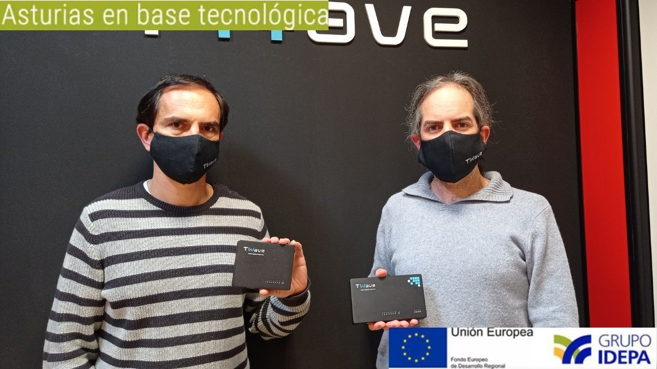 José Ramón Blanco, CEO de Twave, y Juan Menéndez, CTO de la compañía