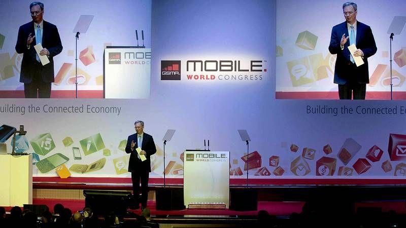 Gary Kovacs, CEO de Mozilla, durante la presentación del nuevo sistema operativo para móviles Firefox OS