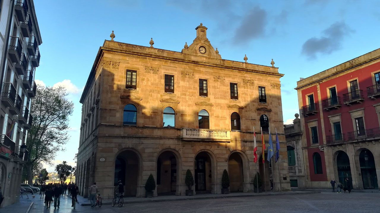 comisaría de Policía Nacional de Gijón.Ayuntamiento de Gijón