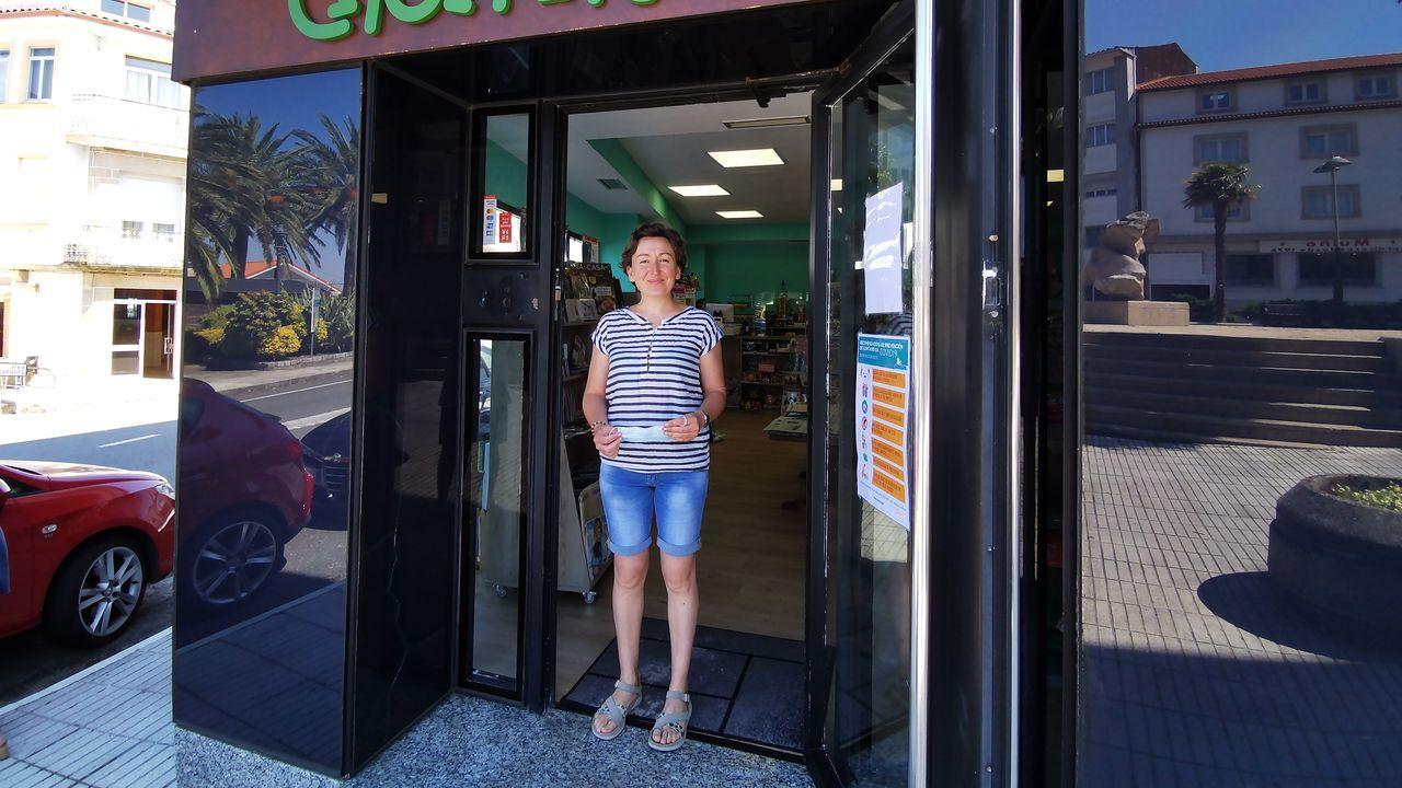 Maruxiña se quedó a vivir en Porto do Son