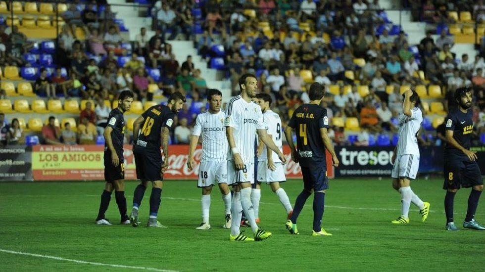 Imagen del UCAM-Real Oviedo de Copa del Rey