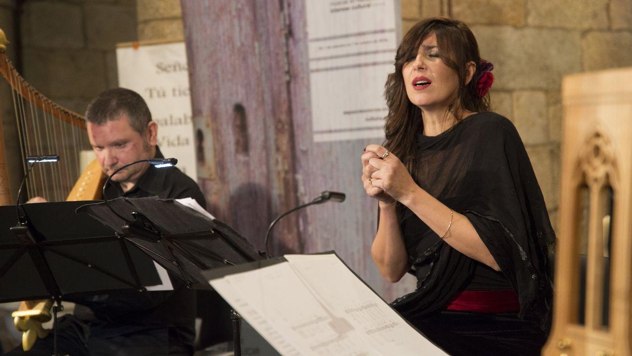 La música medieval regresó a Moraime de la mano del ciclo Espazos Sonoros