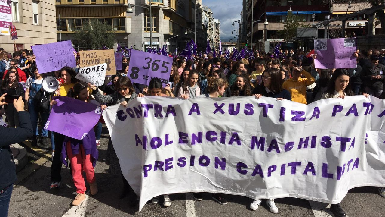 El 8M en Ourense