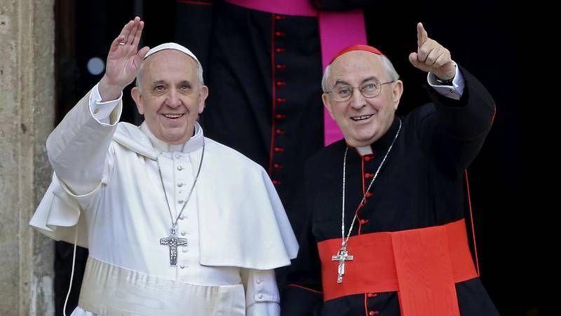 Bergoglio, el nuevo papa, en Santa María la Mayor esta mañana