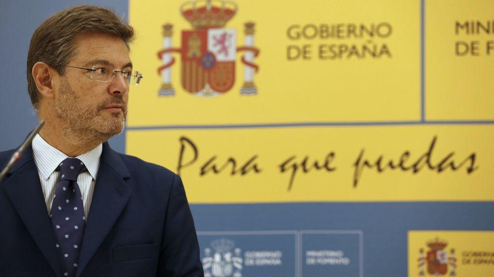El grueso de las medidas incumplidas tienen que ver con el ministerio de Rafael Catalá.